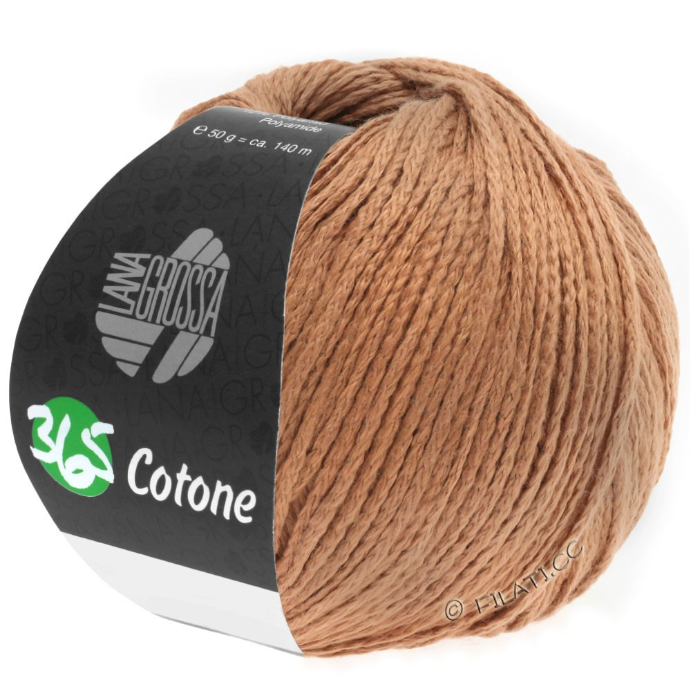 365 COTONE - von Lana Grossa | 43-Karamell