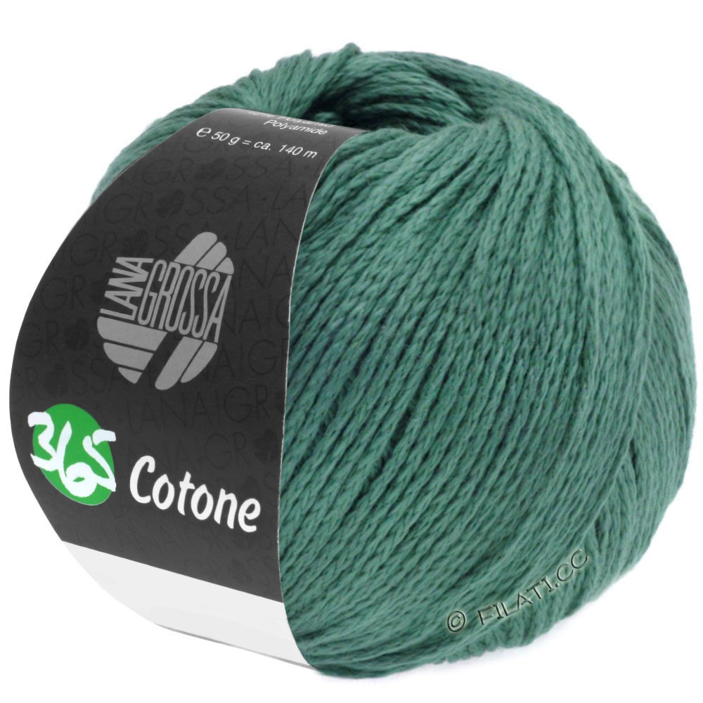 365 COTONE - von Lana Grossa | 45-Dunkelgrün