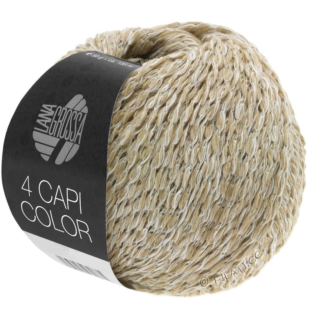 4 CAPI Color - von Lana Grossa   101-Weiß/Beige