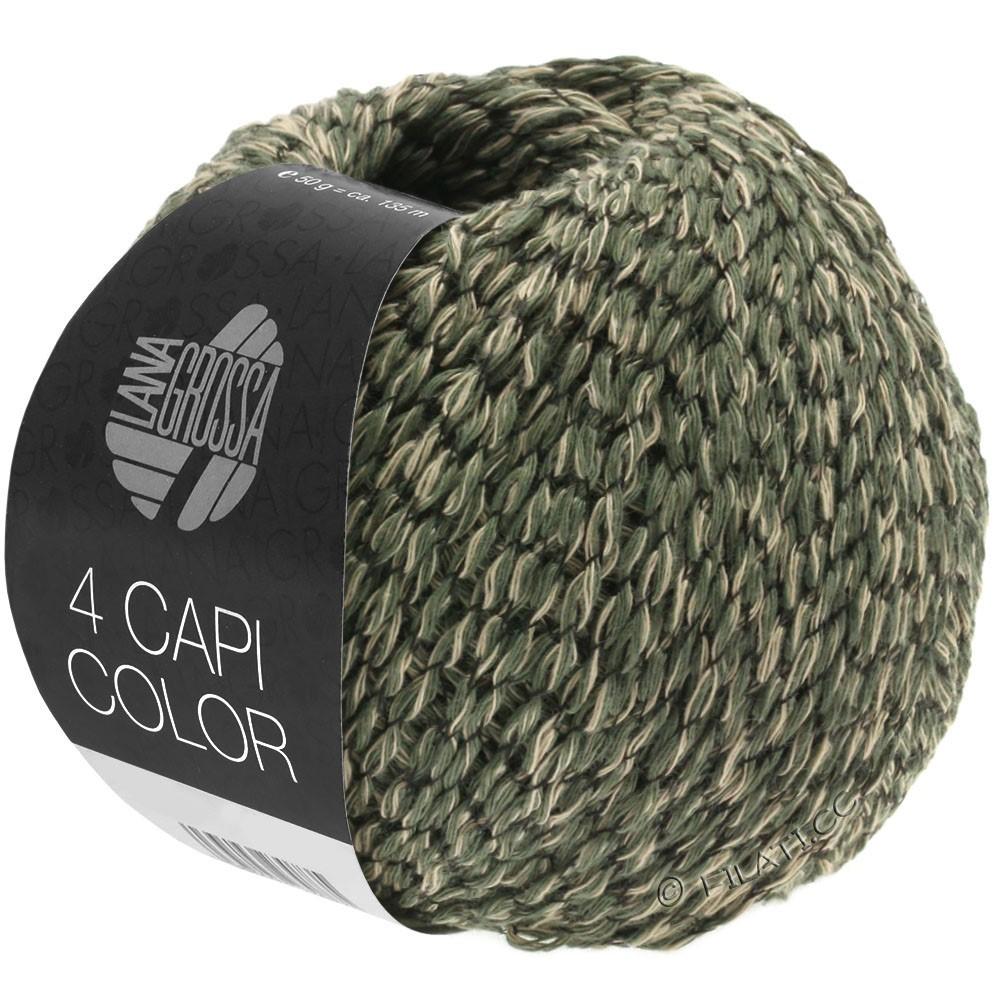 4 CAPI Color - von Lana Grossa   103-Sand/Jägergrün