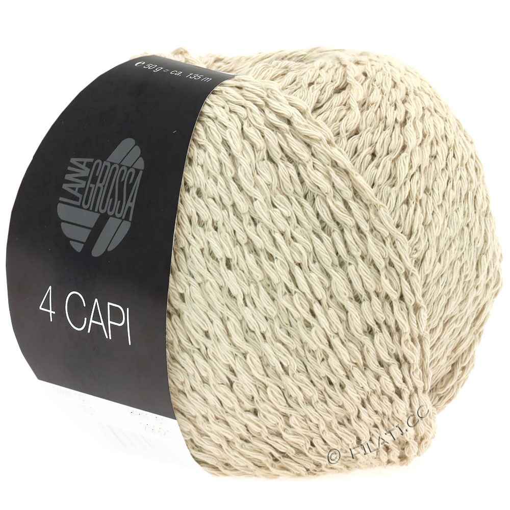 4 CAPI - von Lana Grossa | 01-Sand