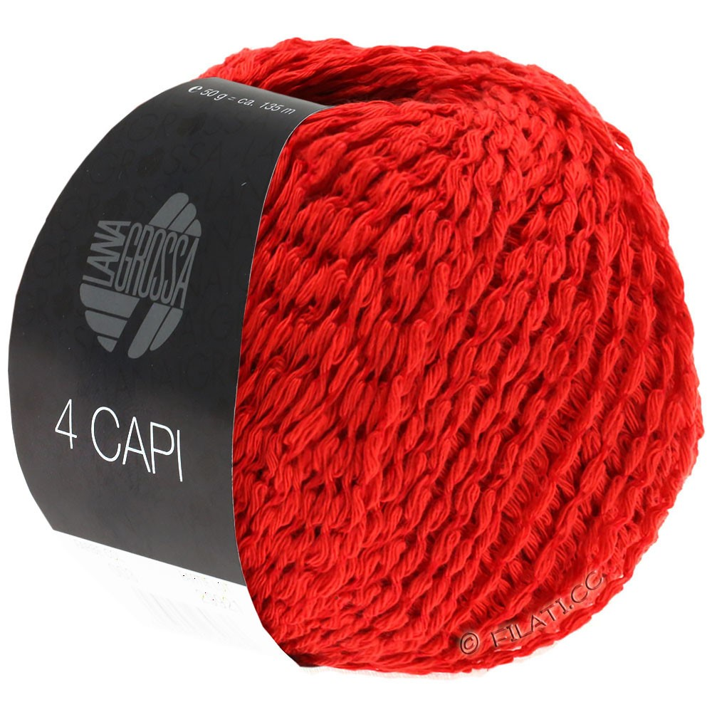 4 CAPI - von Lana Grossa | 07-Rot