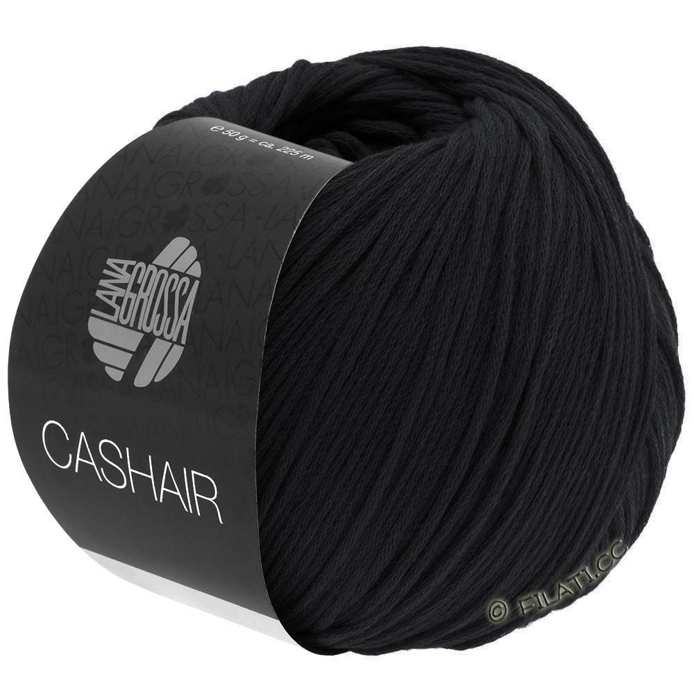 CASHAIR - von Lana Grossa | 08-Schwarz