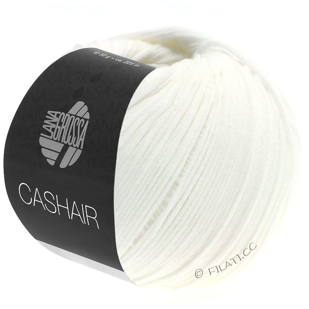 CASHAIR - von Lana Grossa | 16-Weiß