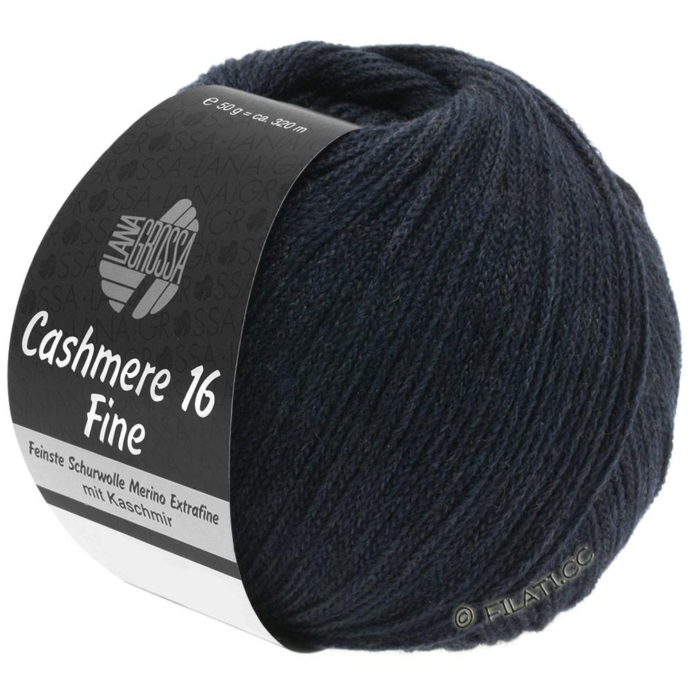 CASHMERE 16 FINE Uni/Degradé - von Lana Grossa | 012-Nachtblau