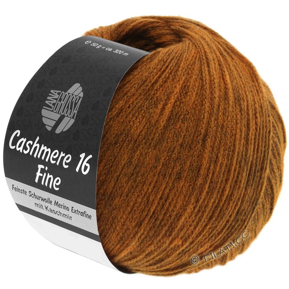CASHMERE 16 FINE Uni/Degradé - von Lana Grossa | 021-Cognac