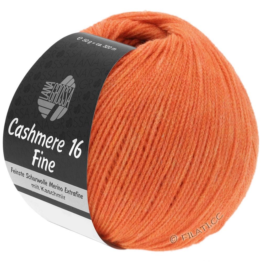 CASHMERE 16 FINE Uni/Degradé - von Lana Grossa | 030-Orange