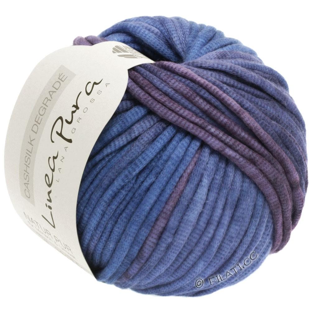 CASHSILK Degradé (Linea Pura) - von Lana Grossa | 101-Pflaume/Veilchenblau/Lavendel