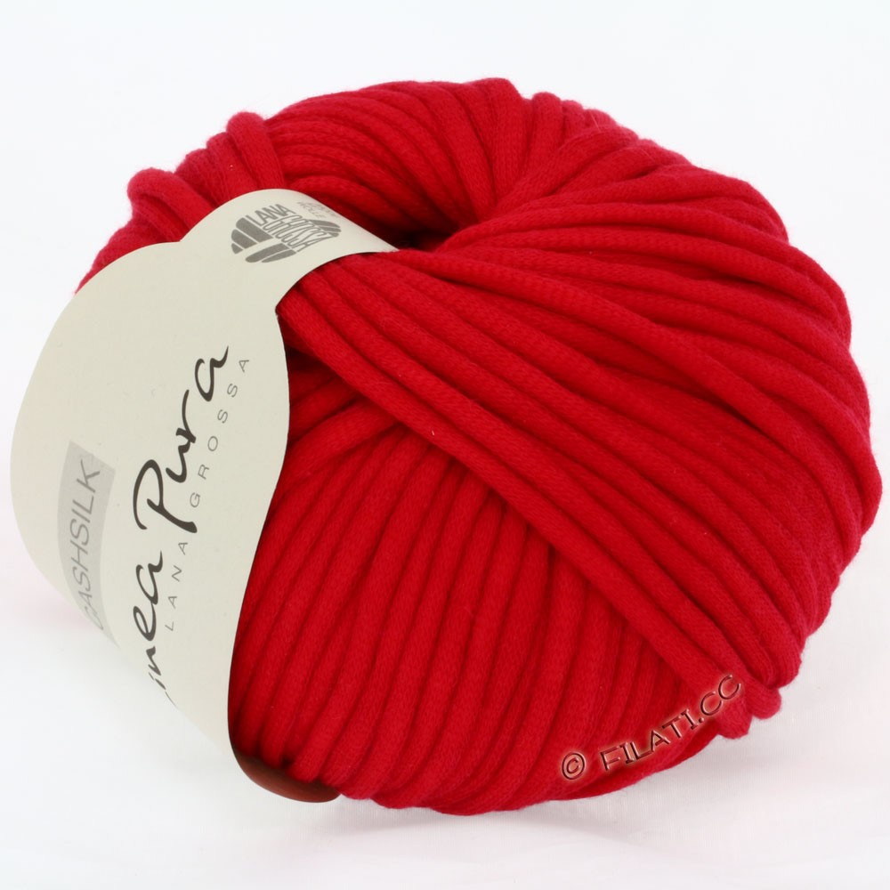 CASHSILK (Linea Pura) - von Lana Grossa | 02-Rot