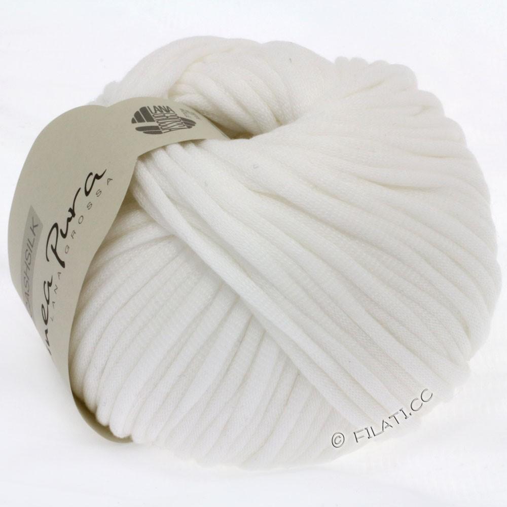 CASHSILK (Linea Pura) - von Lana Grossa | 07-Weiß