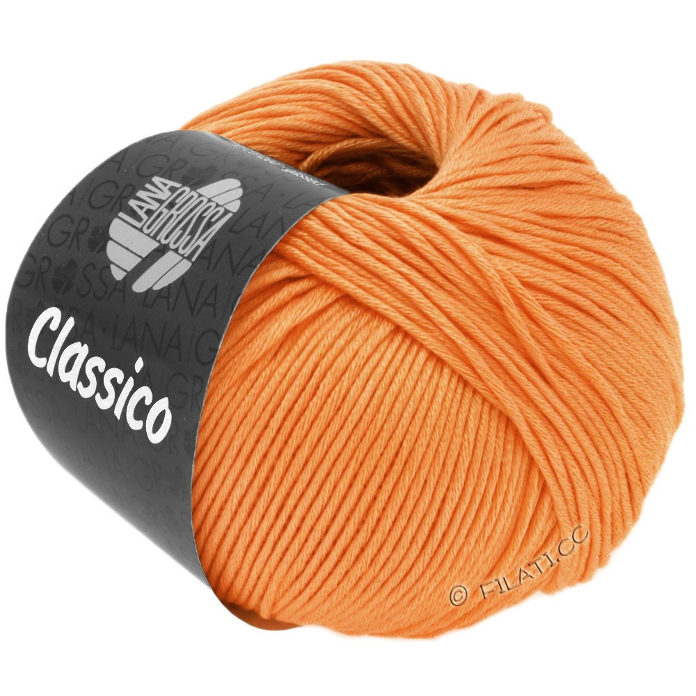 CLASSICO Uni - von Lana Grossa | 47-Orange