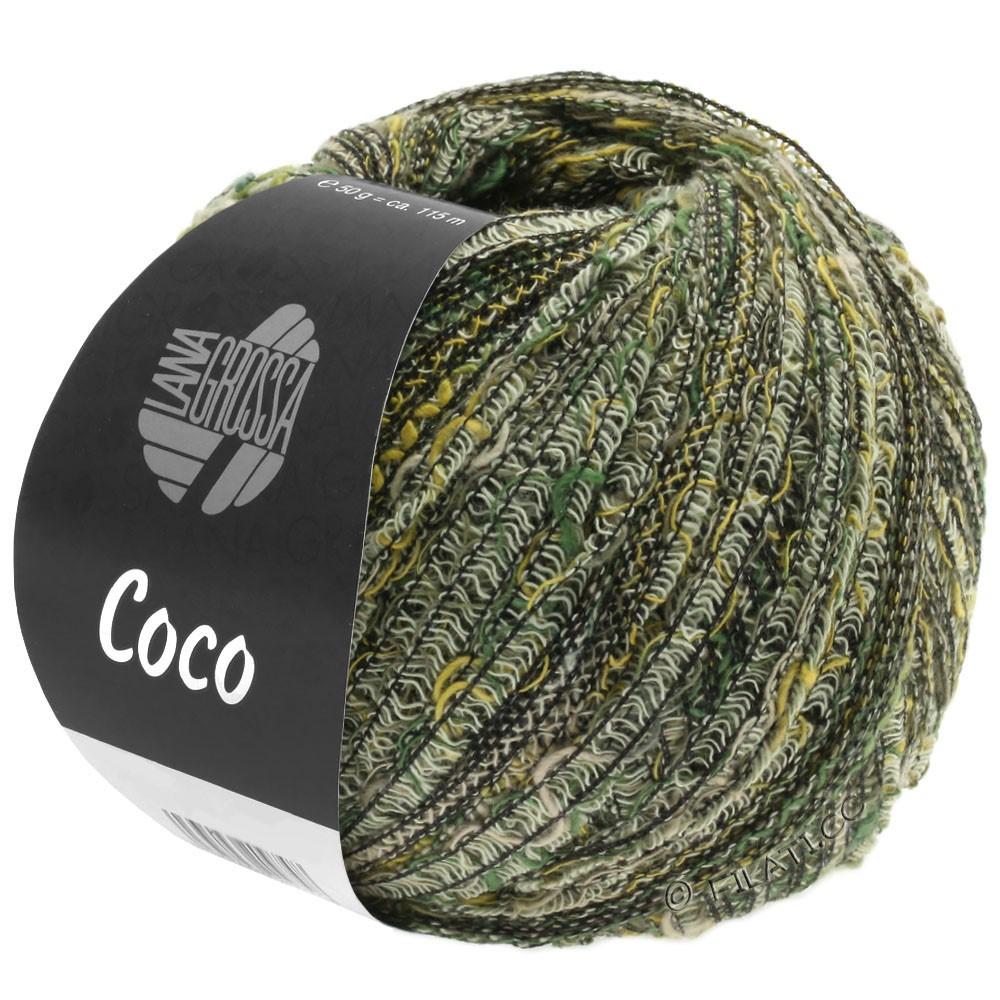 COCO - von Lana Grossa | 04-Natur/Senf/Graugrün