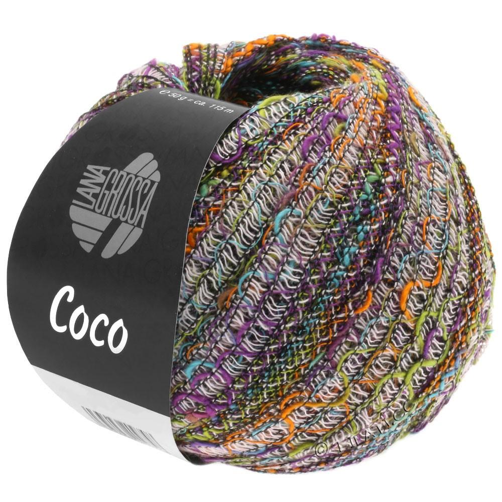 COCO - von Lana Grossa | 10-Rosa/Violett/Pistazie/Orange/Türkis