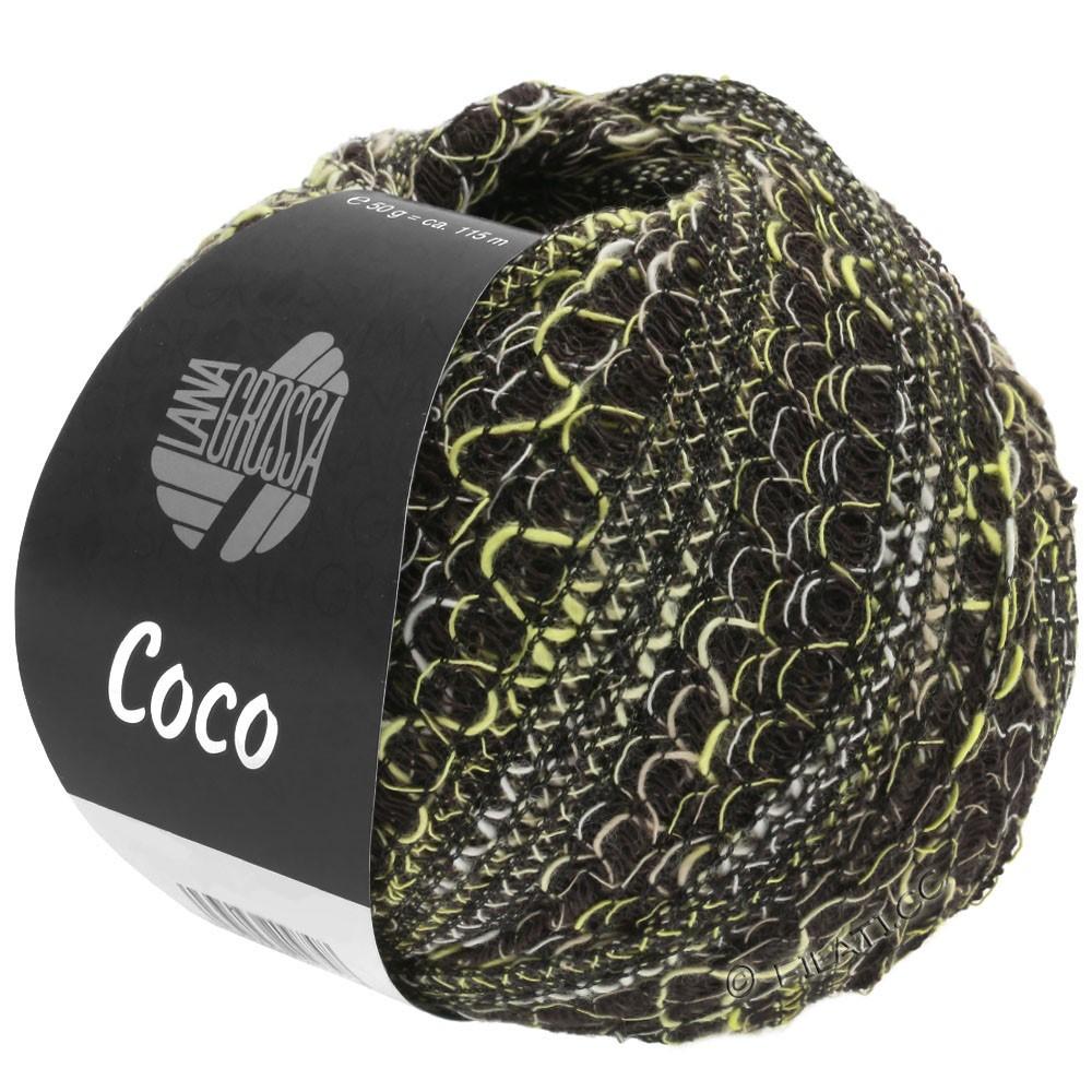 COCO - von Lana Grossa | 14-Vanille/Natur/Schwarz