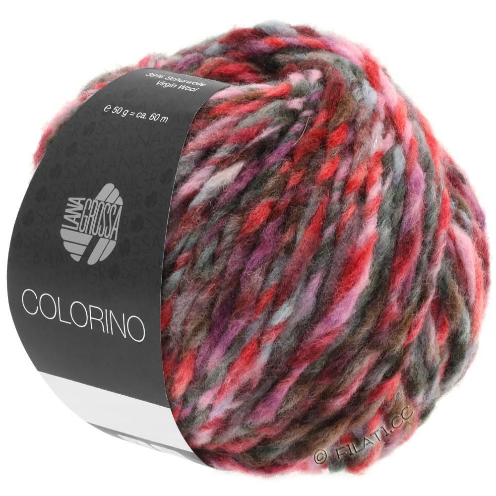 COLORINO - von Lana Grossa | 03-Rot/Rosa/Grau/Burgund/Anthrazit