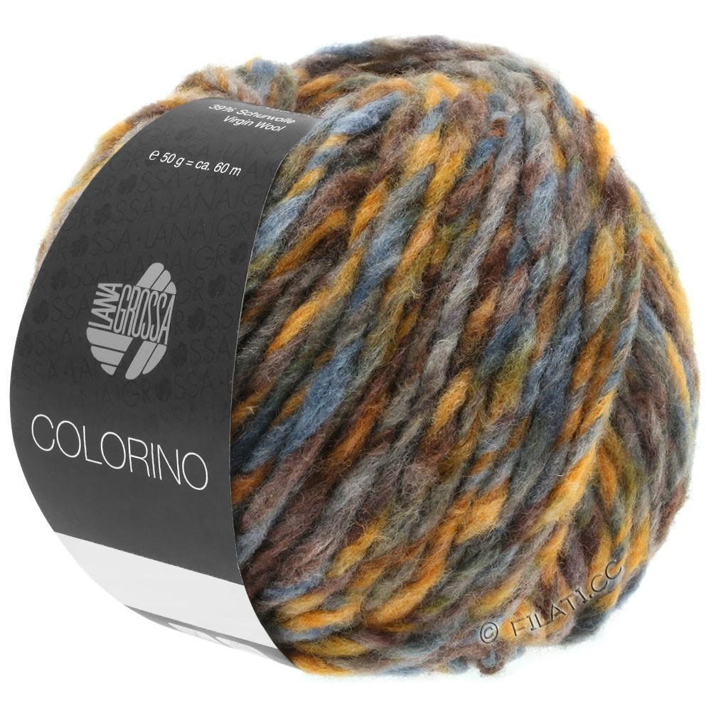 COLORINO - von Lana Grossa | 05-Braun/Ocker/Graublau/Graugrün