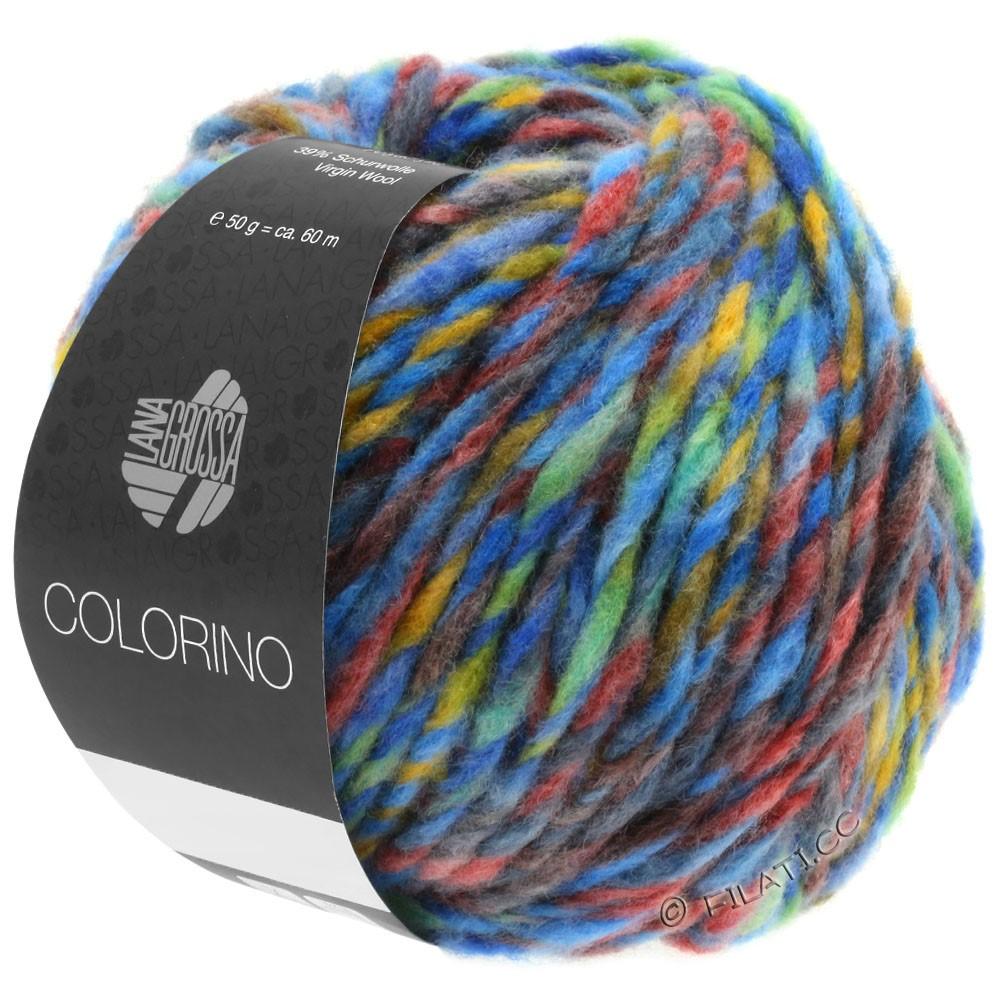 COLORINO - von Lana Grossa | 07-Blau/Grün/Terracotta/Türkis/Anthrazit