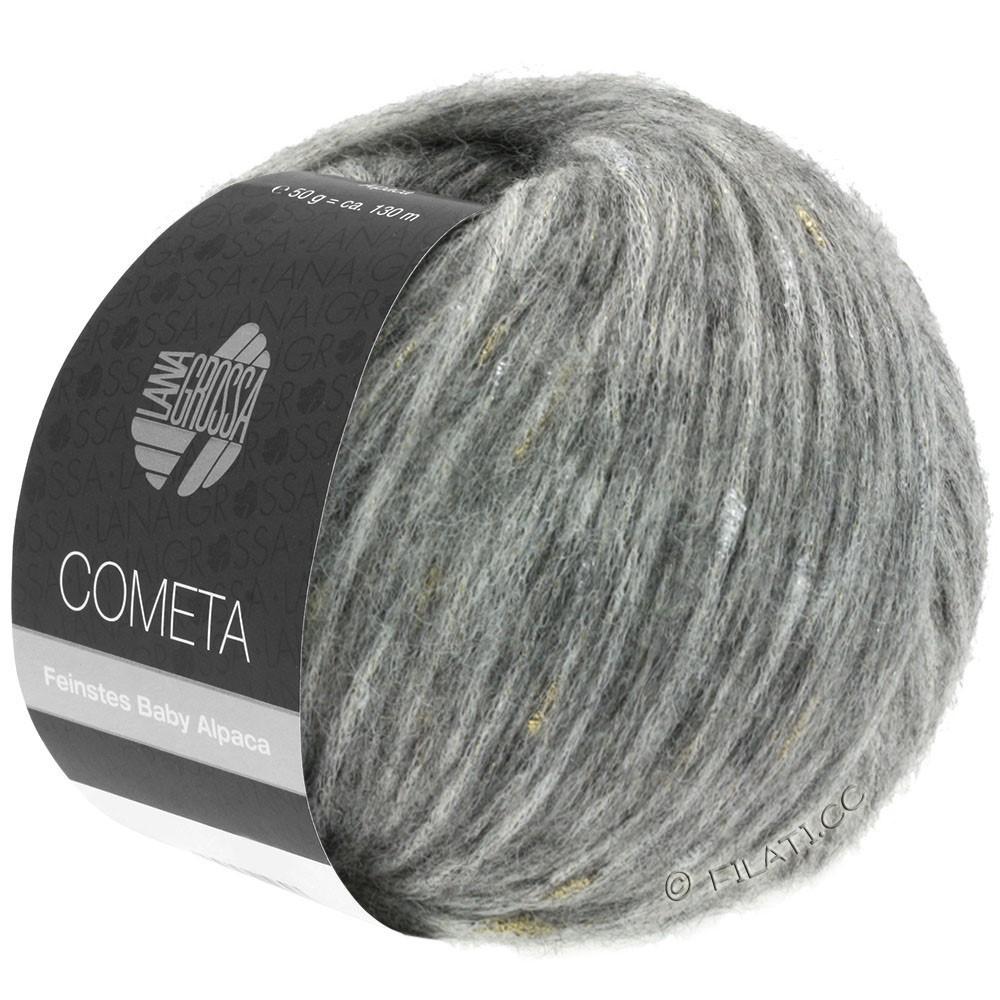 COMETA - von Lana Grossa | 09-Hellgrau/Gold/Silber