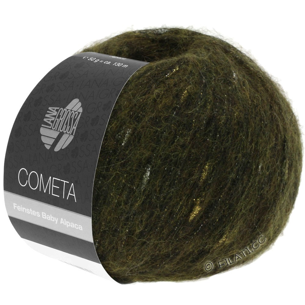 COMETA - von Lana Grossa | 13-Khaki/Gold/Silber