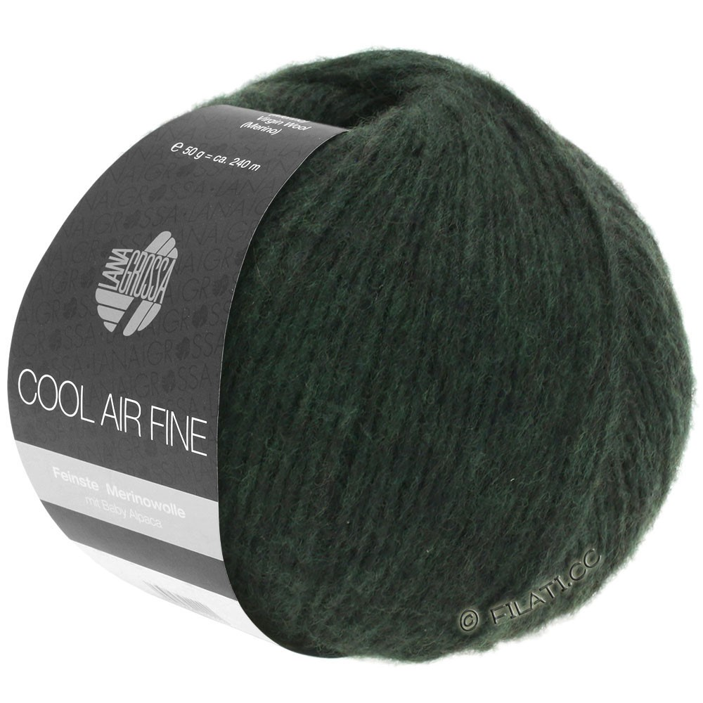 COOL AIR Fine - von Lana Grossa | 02-Schwarzgrün