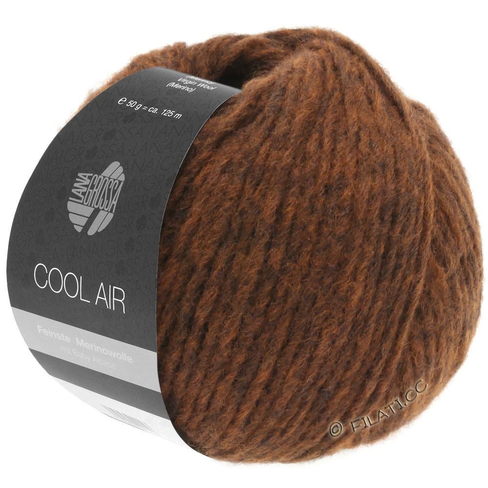 COOL AIR - von Lana Grossa | 16-Rotbraun