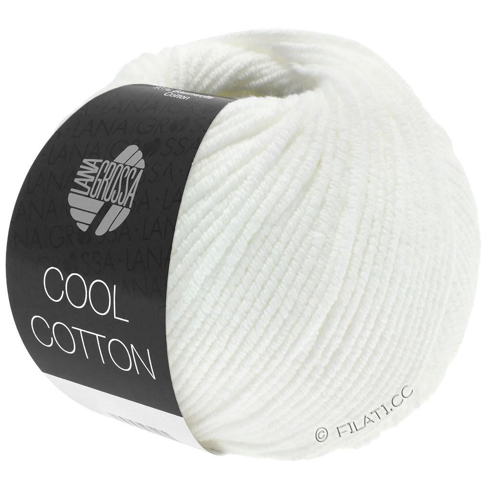 COOL COTTON - von Lana Grossa | 01-Weiß