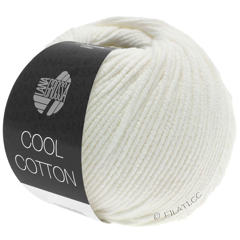 COOL COTTON - von Lana Grossa | 02-Rohweiß