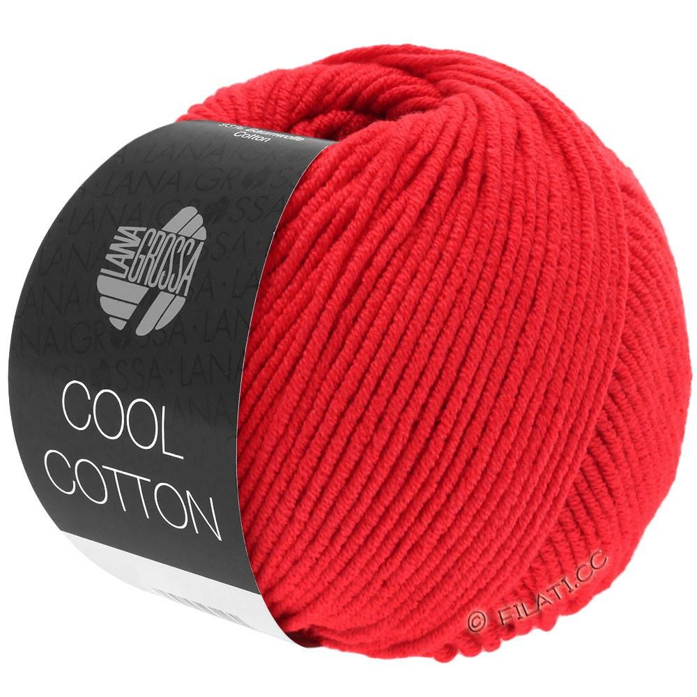 COOL COTTON - von Lana Grossa | 08-Signalrot