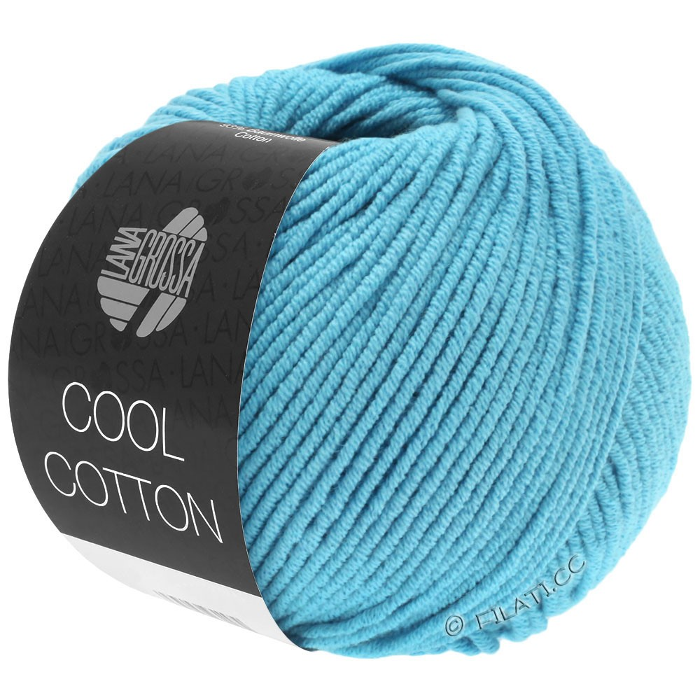 COOL COTTON - von Lana Grossa | 14-Türkis