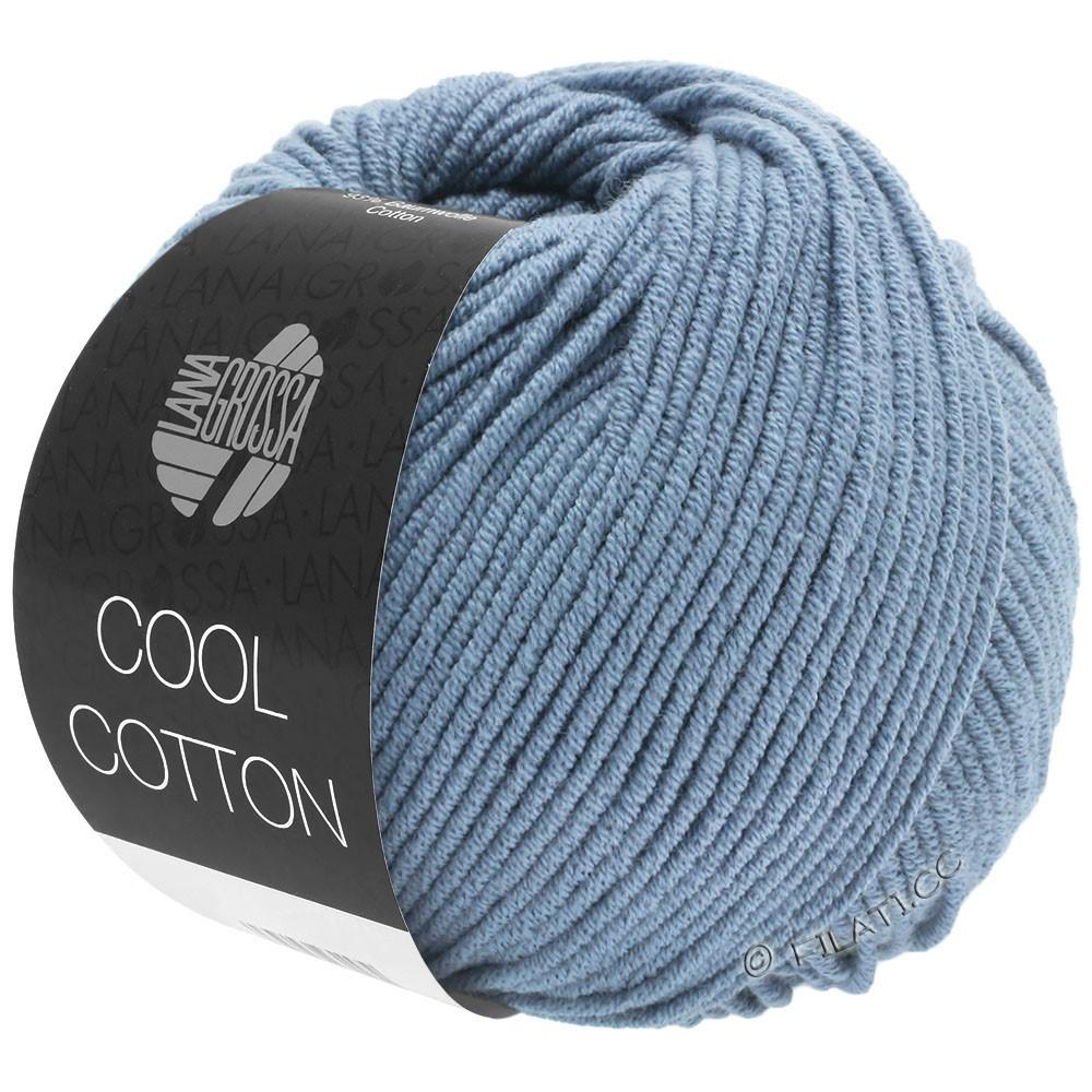 COOL COTTON - von Lana Grossa | 17-Taubenblau