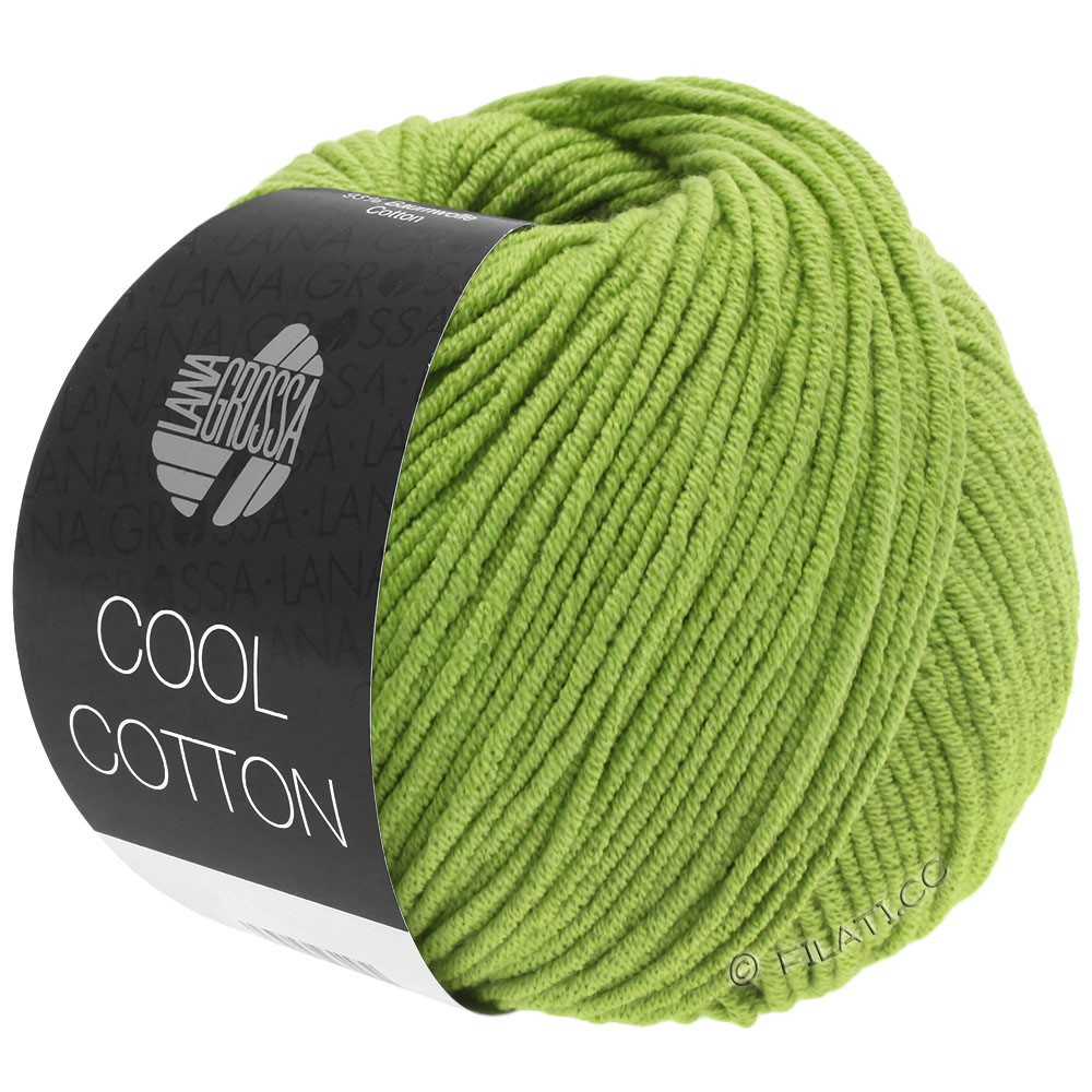 COOL COTTON - von Lana Grossa | 19-Hellgrün