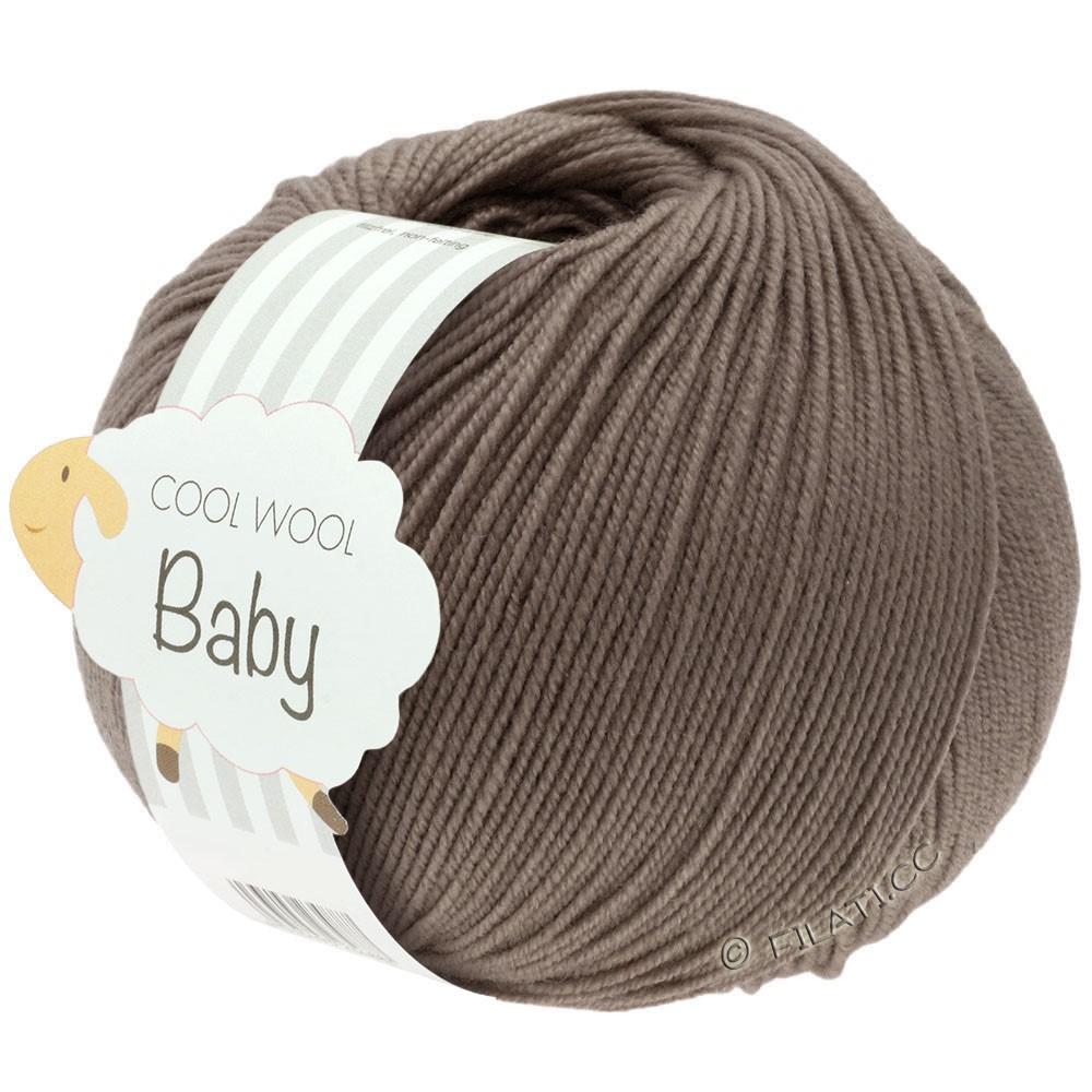 COOL WOOL Baby Uni/Degradé - von Lana Grossa | 211-Graubraun