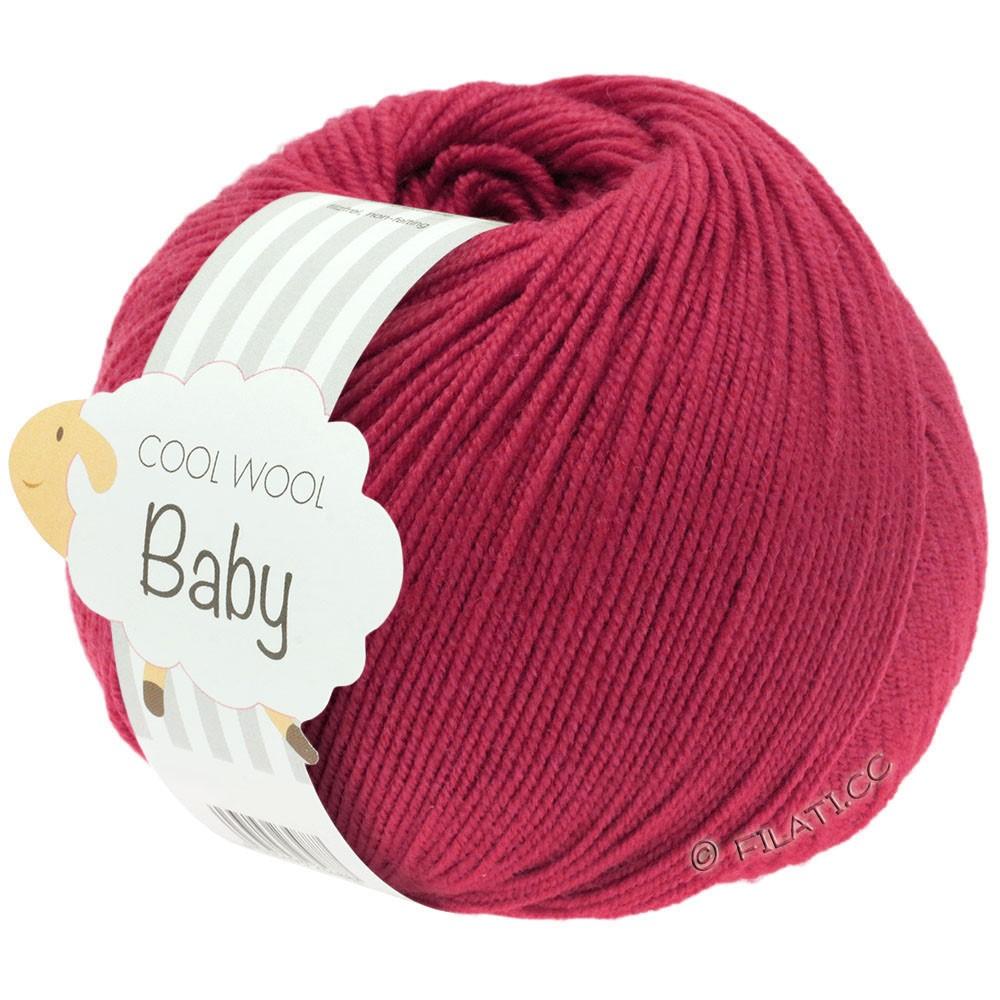 COOL WOOL Baby Uni/Degradé - von Lana Grossa | 220-Kardinalrot