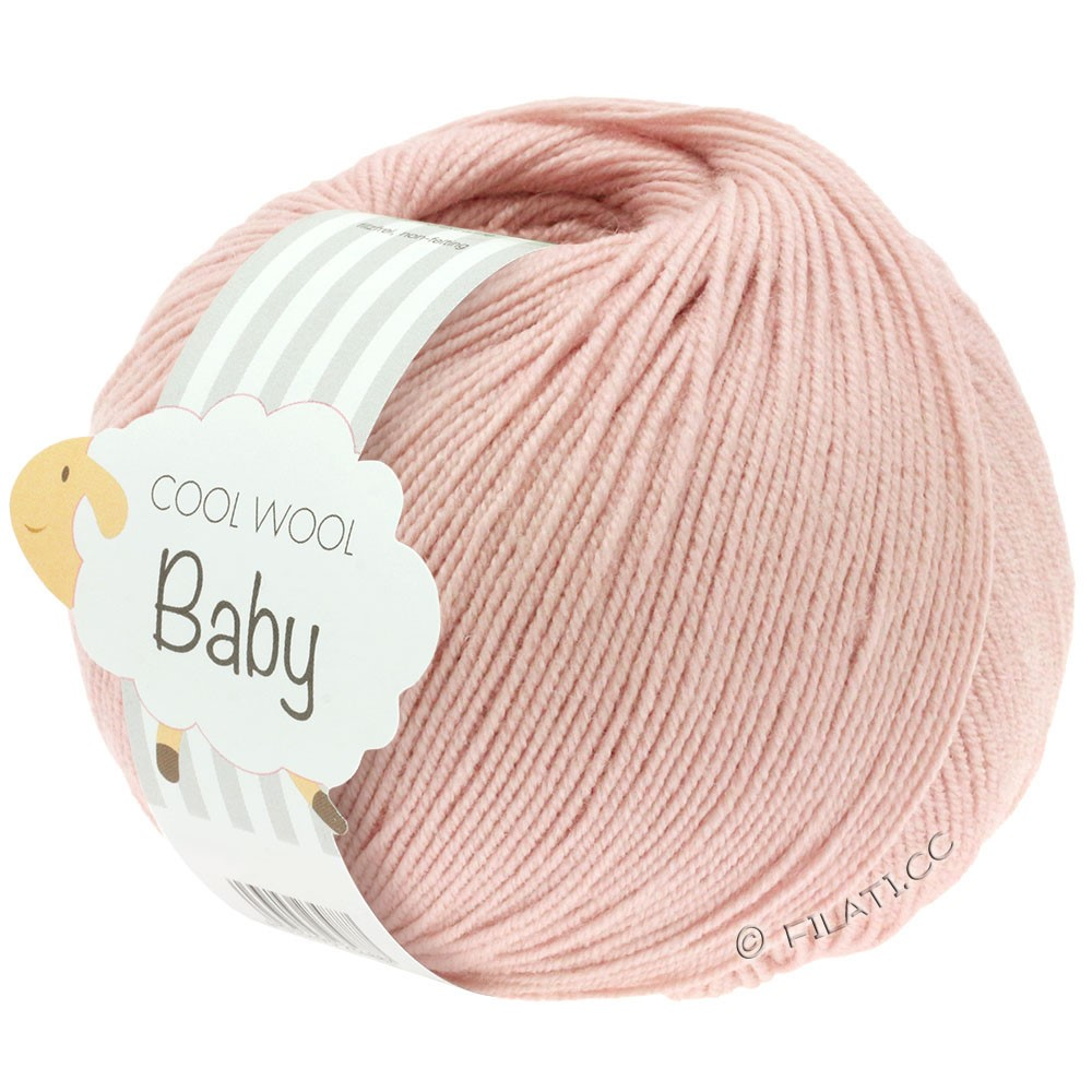 COOL WOOL Baby Uni/Degradé - von Lana Grossa | 246-Puderrosa