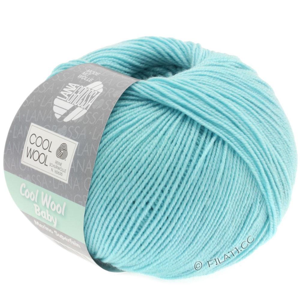 COOL WOOL Baby - von Lana Grossa | 253-Eisblau