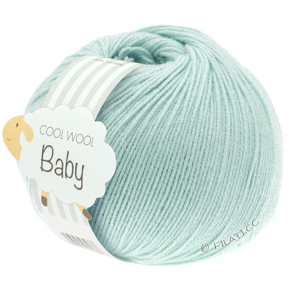 COOL WOOL Baby Uni/Degradé - von Lana Grossa | 257-Zartgrün