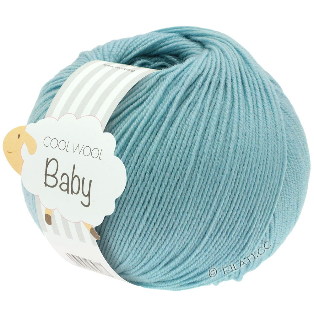 COOL WOOL Baby - von Lana Grossa | 261-Mint