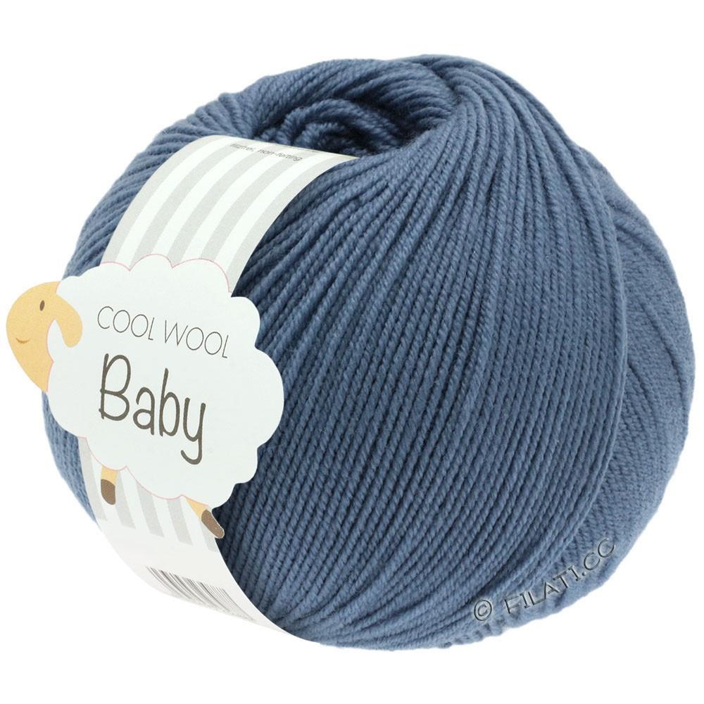 COOL WOOL Baby - von Lana Grossa | 263-Taubenblau