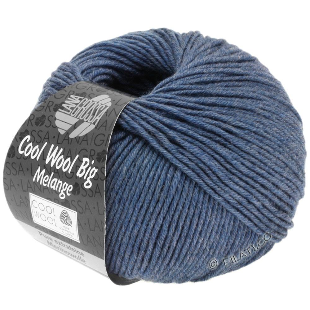 COOL WOOL Big Uni/Melange/Print - von Lana Grossa | 0328-Jeans meliert