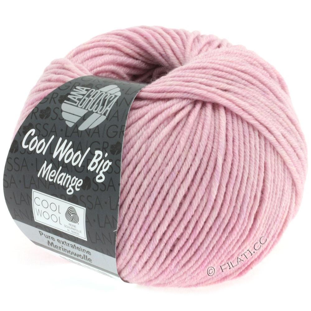 COOL WOOL Big Uni/Melange/Print - von Lana Grossa | 0334-Rosa meliert