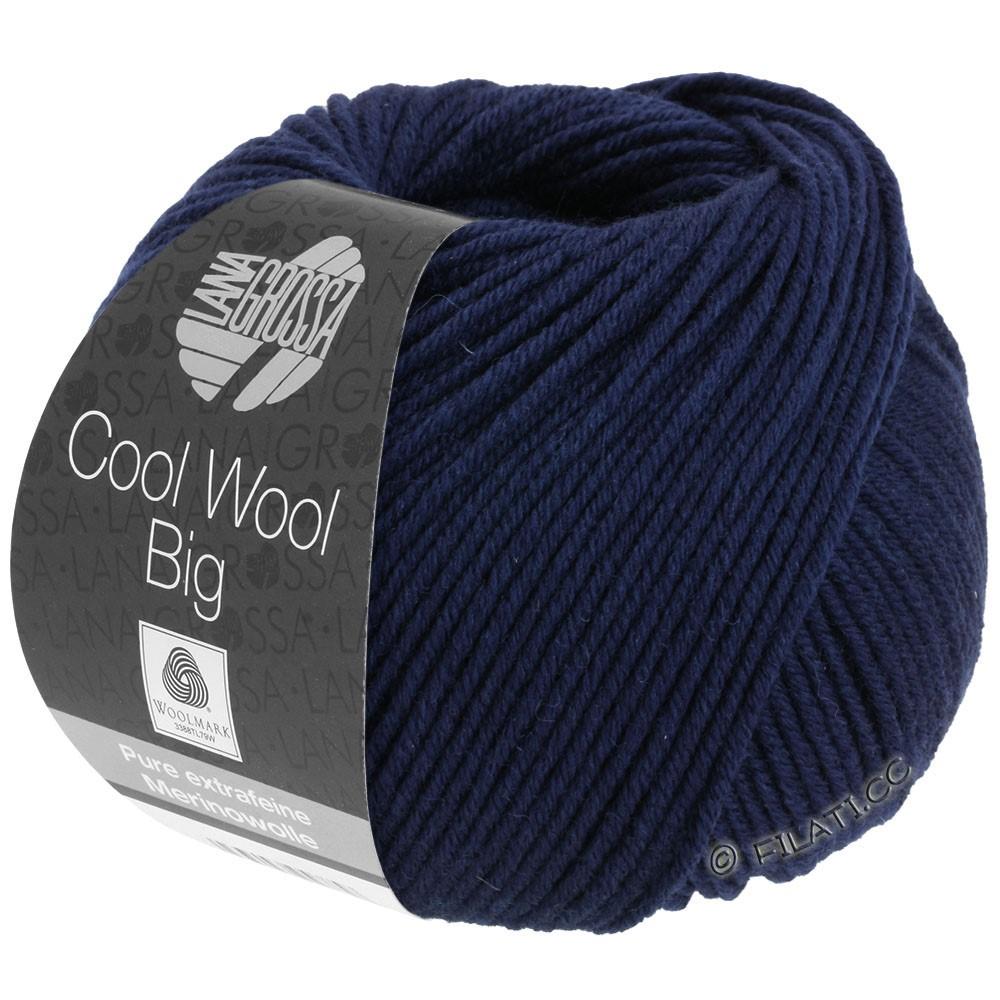 COOL WOOL Big  Uni/Melange/Print - von Lana Grossa | 0630-Nachtblau
