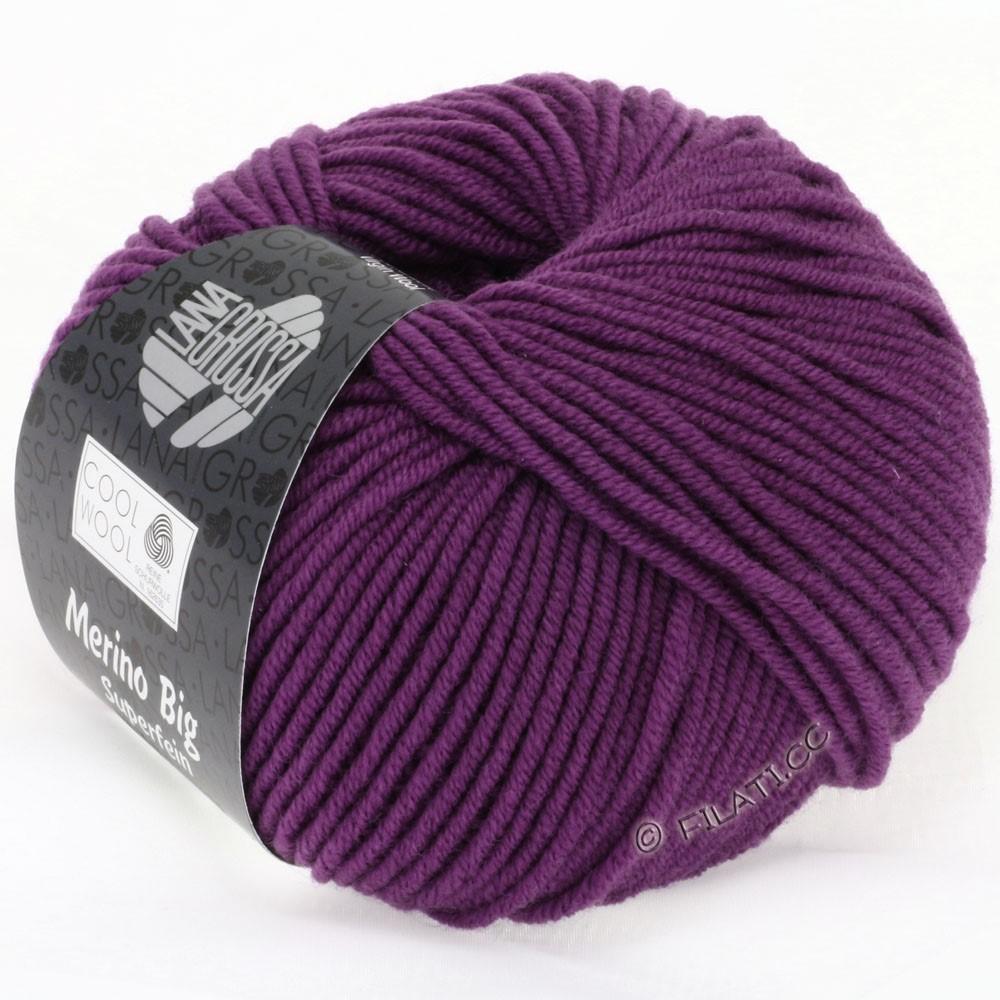COOL WOOL Big Uni/Melange/Print - von Lana Grossa | 0695-Violett