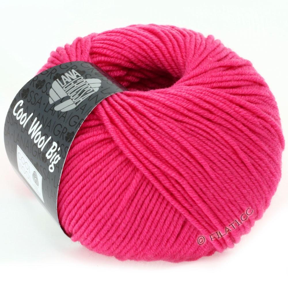 COOL WOOL Big  Uni/Melange/Print - von Lana Grossa | 0938-Pink
