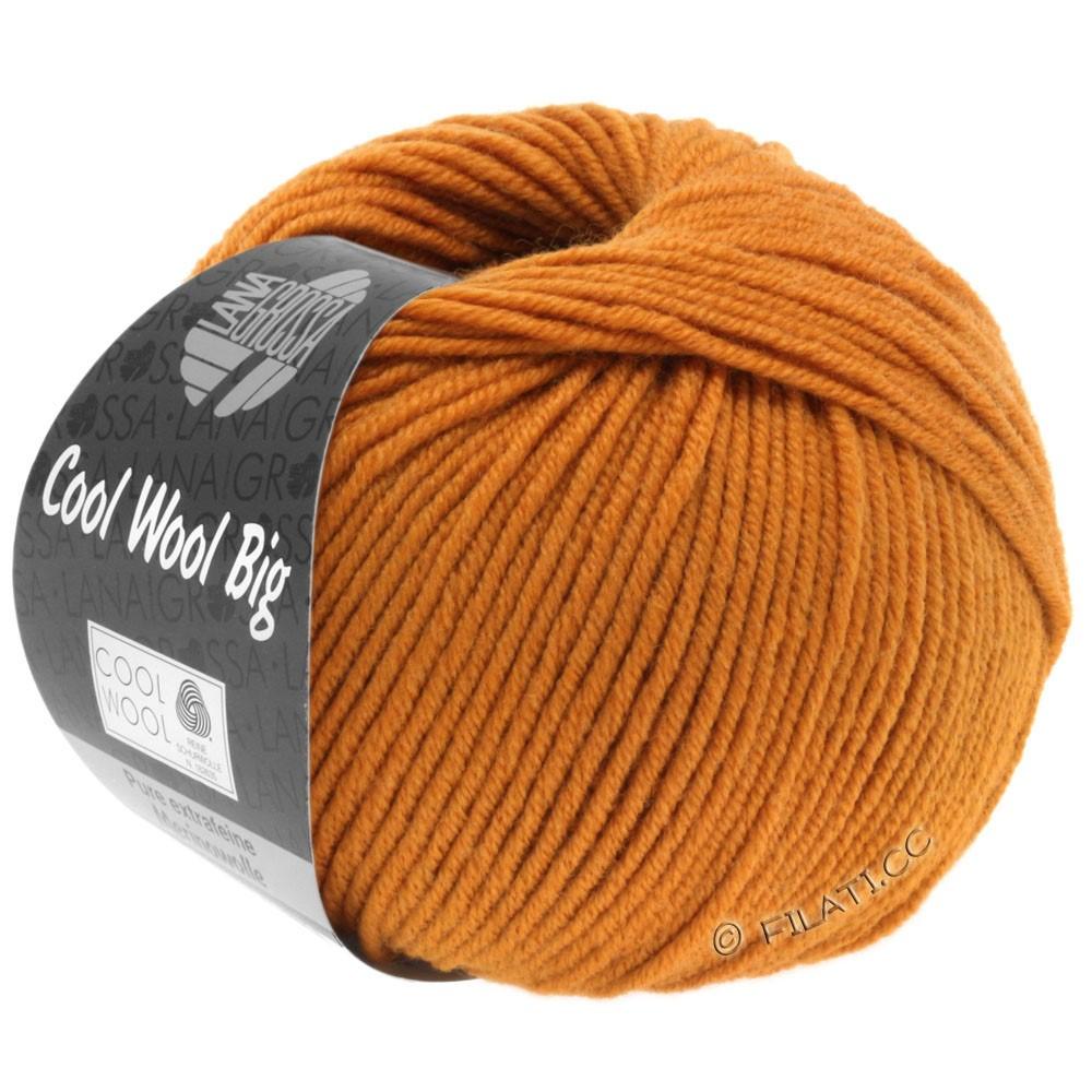 COOL WOOL Big Uni/Melange/Print - von Lana Grossa | 0955-Orangebraun