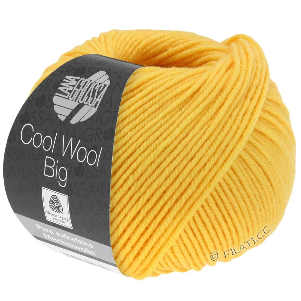 COOL WOOL Big Uni/Melange/Print - von Lana Grossa | 0958-Sonnengelb