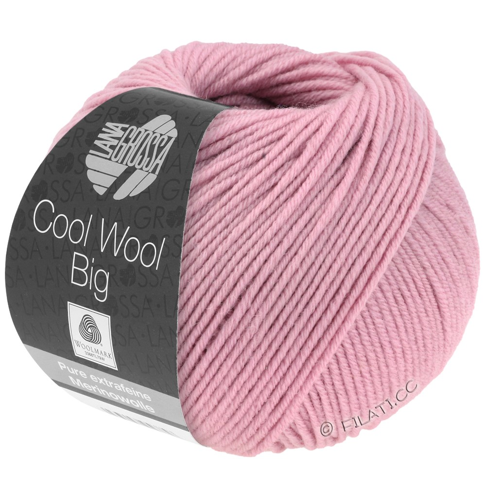 COOL WOOL Big  Uni/Melange - von Lana Grossa | 0963-Rosa
