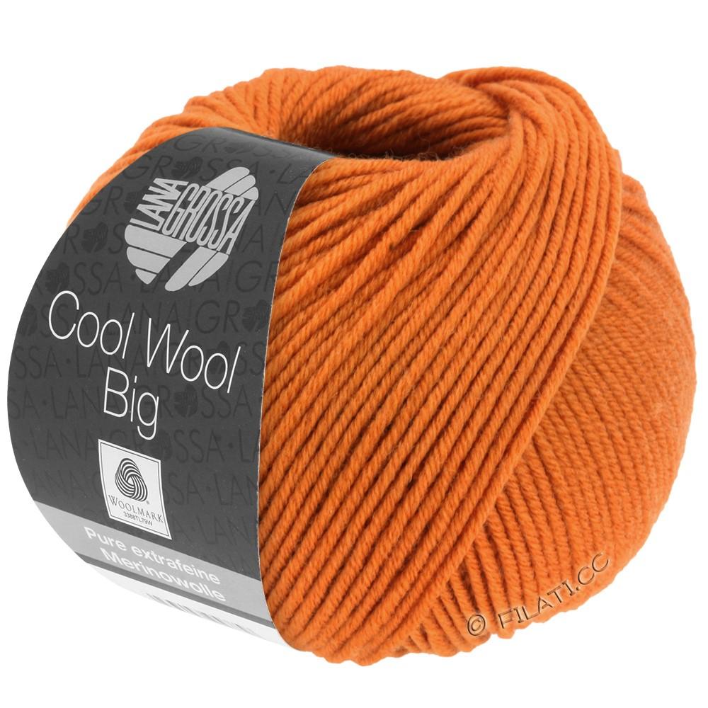 COOL WOOL Big  Uni/Melange - von Lana Grossa | 0970-Orange
