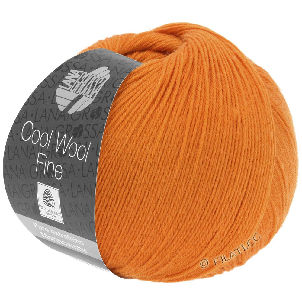 COOL WOOL Fine - von Lana Grossa | 21-Orange