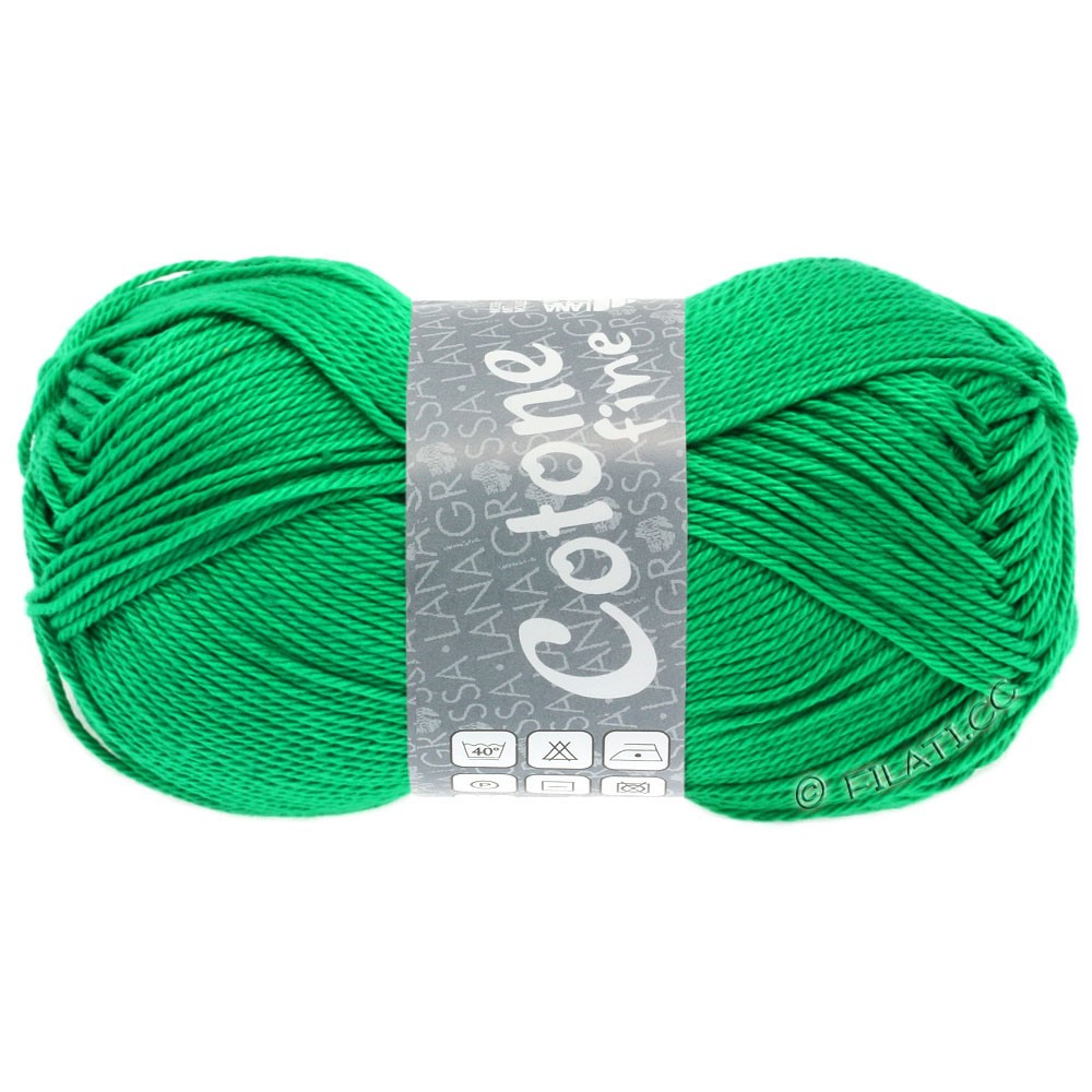 COTONE FINE - von Lana Grossa | 615-Smaragd