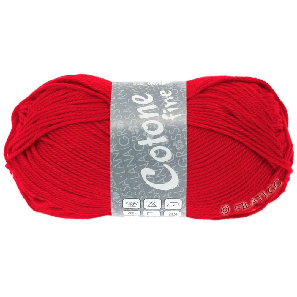 COTONE FINE - von Lana Grossa | 618-Rot